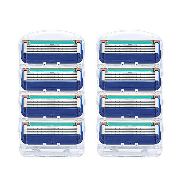 질레트 면도날 호환전용 퓨전 매뉴얼 2팩 (8입) 상품이미지
