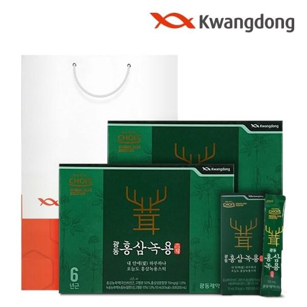 광동 홍삼녹용스틱 (10ml x 30포) - 2박스 상품이미지