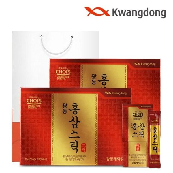 광동 홍삼스틱 (10ml x 30포) - 2박스 상품이미지