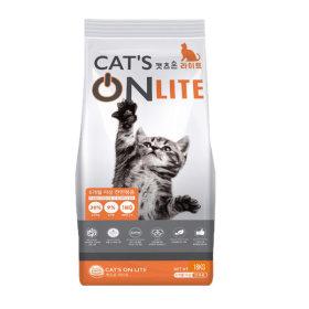 캣츠온라이트18kg 길고양이 냥이 대용량 사료