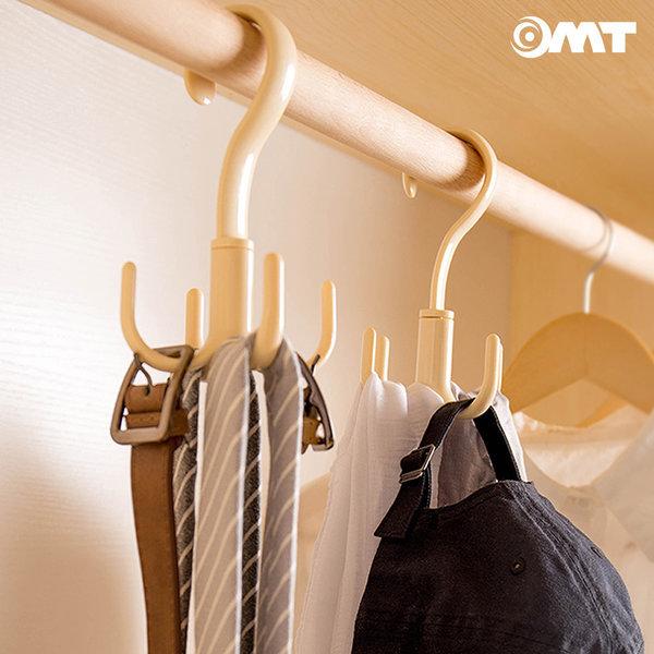 OMT 4개후크걸이 옷장 넥타이 스카프 옷걸이 OSO-T129 상품이미지