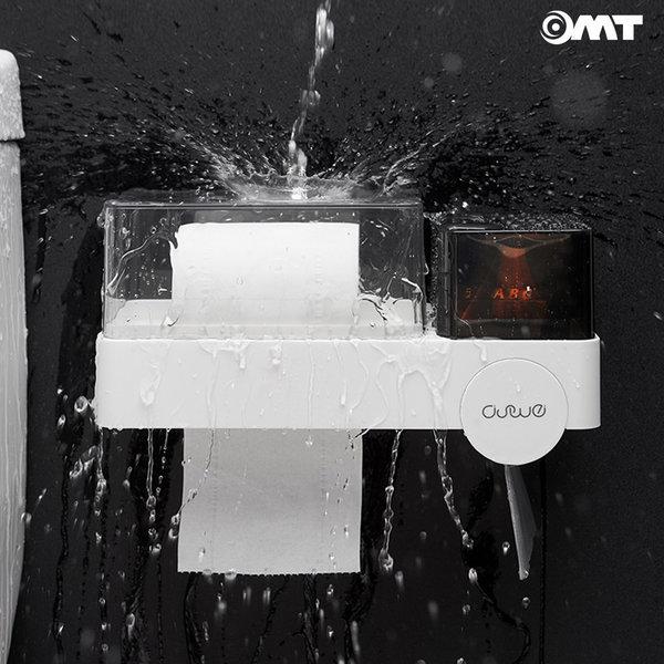 OMT 화장실 멀티 수납함 욕실 방수 휴지걸이 OSO-T118 상품이미지
