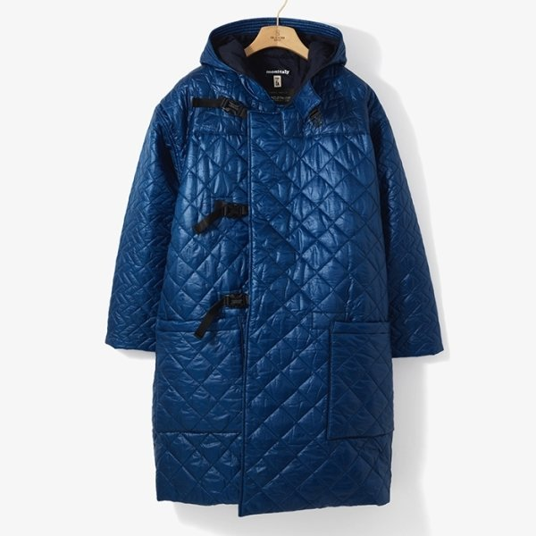 (MONITALY)QUILTED DUFFLE COAT BLUE/MO92M20000A78 상품이미지