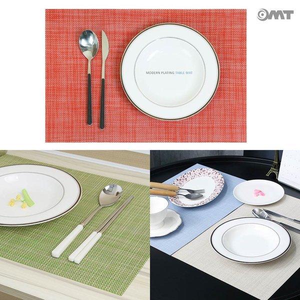 모던 식탁 다이닝 플레이트 방수 테이블 매트 OTM-G 상품이미지