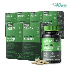 GREENMONSTER Diet 14in1 Green Tea Catechin+ 6packs