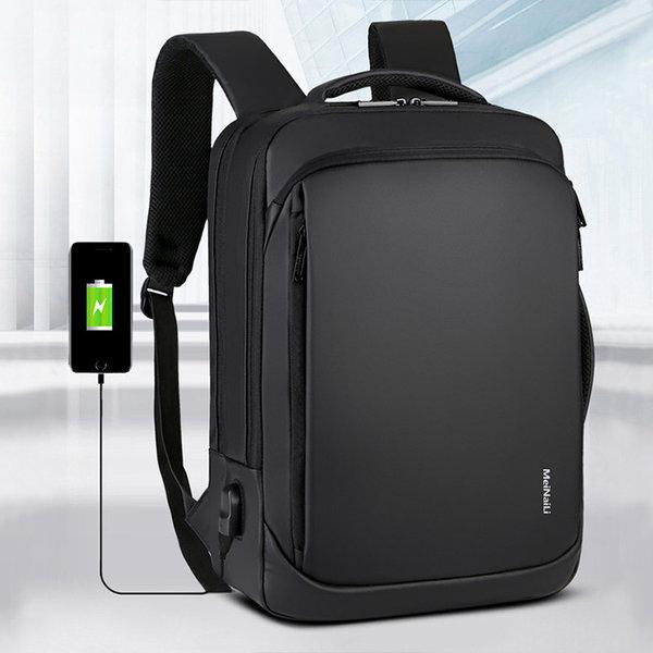 P19 남자 여행용 노트북 백팩 대학생 직장인 학생가방 상품이미지