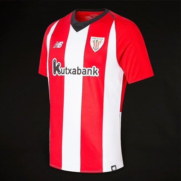 해외쇼핑/Prodirectsoccer New Balance Athletic Bilbao 18/19 Home SS Jersey - Racing Red 상품이미지