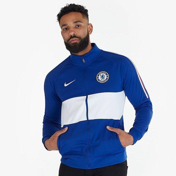 해외쇼핑/Prodirectsoccer Nike Chelsea 2019/20 I96 Jacket - Rush Blue/White/White 상품이미지