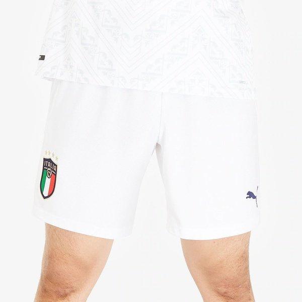 해외쇼핑/Prodirectsoccer Puma Italy 19/20 Home Away Short Replica - Puma White/Peacoat 상품이미지