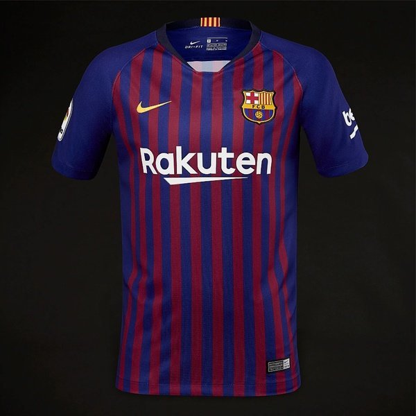 해외쇼핑/Prodirectsoccer Nike Kids FC Barcelona 2018/19 Home Stadium SS Jersey - Deep Royal Blue/Uni 상품이미지