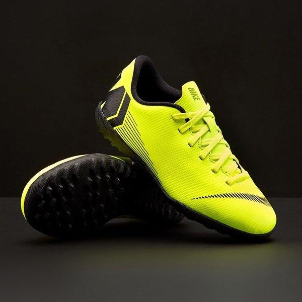 해외쇼핑/Prodirectsoccer Nike Kids Mercurial Vapor Fury XII Club TF - Volt/Black 상품이미지
