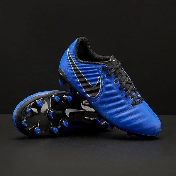 해외쇼핑/Prodirectsoccer Nike Kids Tiempo Legend VII Academy TF - Racer Blue/Black/Metallic Silver 상품이미지