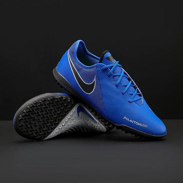 해외쇼핑/Prodirectsoccer Nike Phantom VSN Surge Academy TF - Racer Blue/Black/Metallic Silver/Volt 상품이미지