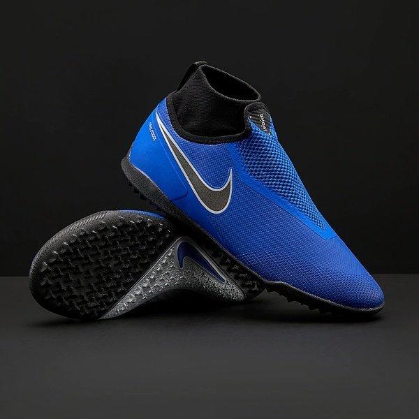 해외쇼핑/Prodirectsoccer Nike React Phantom VSN Surge Pro DF TF - Racer Blue/Black/Metallic Silver/V 상품이미지