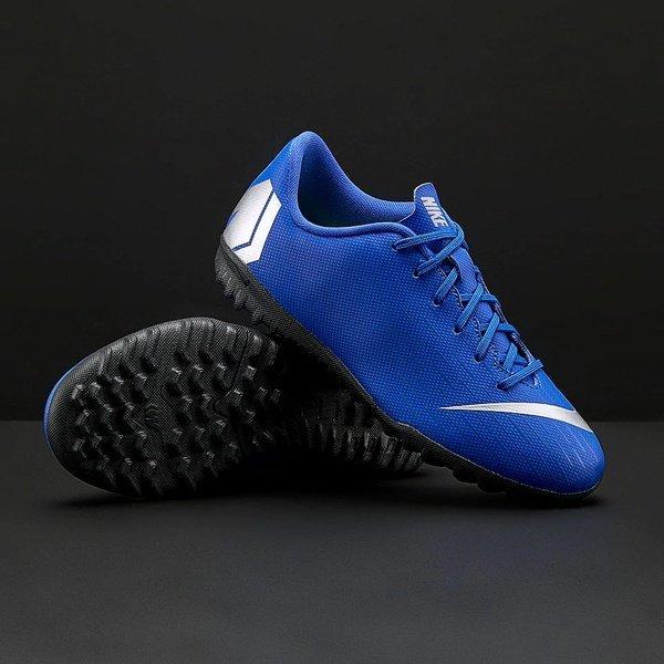 해외쇼핑/Prodirectsoccer Nike Kids Mercurial Vapor Frenzy XII Academy TF - Racer Blue/Metallic Silve 상품이미지
