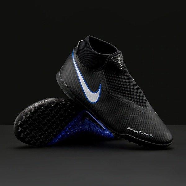 해외쇼핑/Prodirectsoccer Nike Phantom VSN Shadow Academy DF TF - Black/Metallic Silver/Racer Blue 상품이미지
