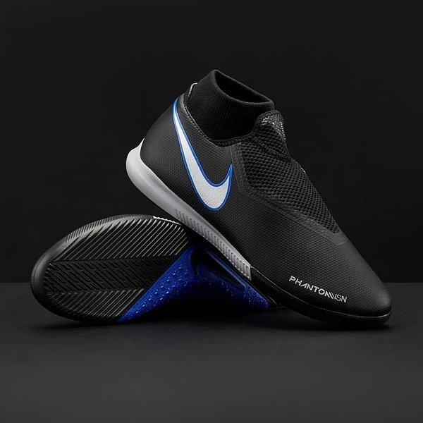 해외쇼핑/Prodirectsoccer Nike Phantom VSN Shadow Academy DF IC - Black/Metallic Silver/Racer Blue 상품이미지