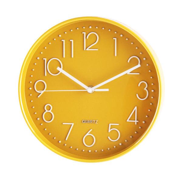 홈플러스시그니처 심플옐로우벽시계 25 상품이미지