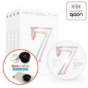 2/21 {신나라제작특전1개} SET(앨범4종+포스터4종+지관통) 방탄소년단 (BTS) - Map Of The Soul : 7