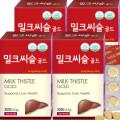 밀크씨슬골드 간건강+아연/4개월분 30Tx4Box(120정)