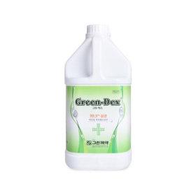 그린덱스 4L 소독제 손 에탄올 살균 메디록스 무독성