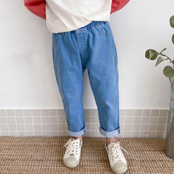 아동 기특한청배기 주니어의류 청바지 초등학생 팬츠 상품이미지