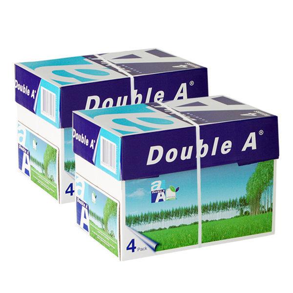 더블에이 A4 복사용지(A4용지) 80g 2BOX(4000매) 상품이미지
