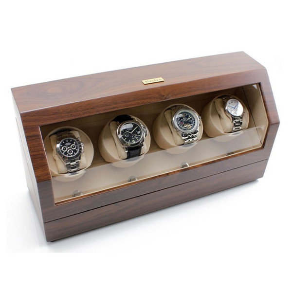 하이덴 프리미어 쿼드 와치와인더 HD015-Walnut 상품이미지