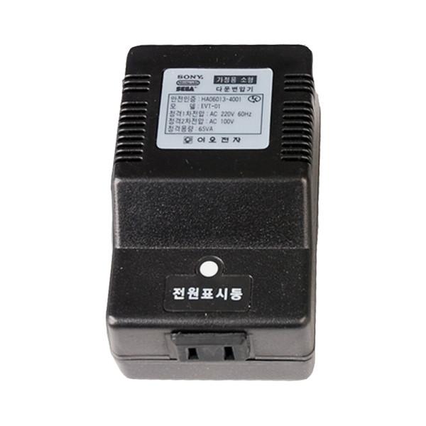 이오전자 소형 다운 가정용 변압기 EVT-01(65VA) 100V 상품이미지