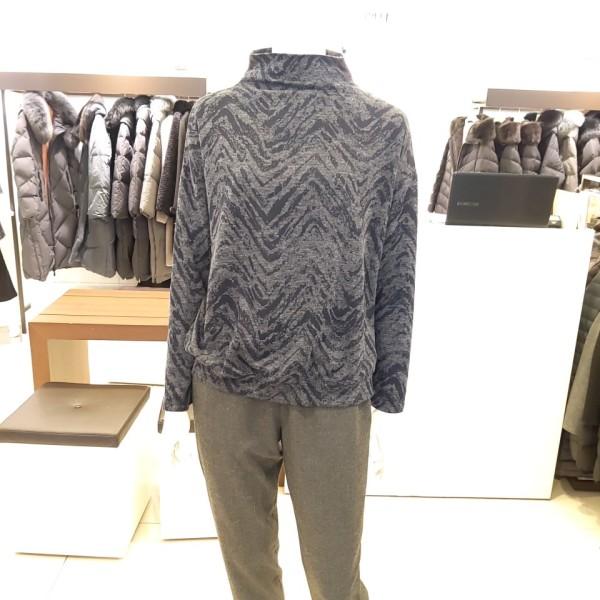 (백화점SAY)(트리아나)나염 반폴라 티셔츠 (TF4TA01) 상품이미지