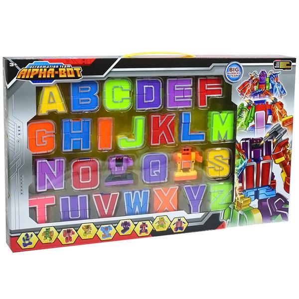 알파벳변신로봇 어린이장난감선물 영어학습 숫자변신 상품이미지