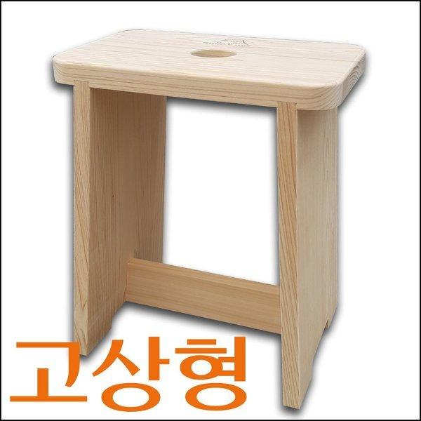 일본전통 히노끼 목욕의자 고상형 편백나무 욕실의자 상품이미지
