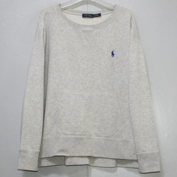 폴로 여성 기모안감 오버핏 큰라운드 티셔츠/ S 상품이미지