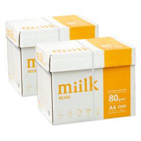 밀크 미색용지 A4 복사용지(A4용지) 80g 2BOX(5000매)