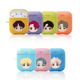 BTS BASIC HARD AirPods CASE 비티에스 에어팟 케이스