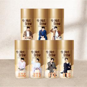 BTS 핫브루 바닐라 라떼 270ml 랜덤배송 10개