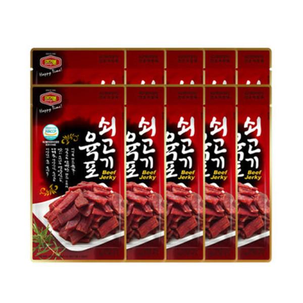 쇠고기육포 25g x10개 상품이미지