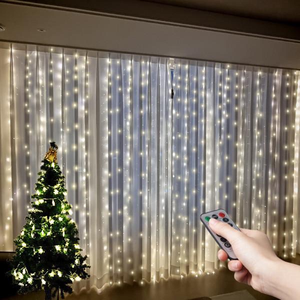 OMT 크리스마스 LED 조명 300개전구 커튼활용 OL-3X3 상품이미지