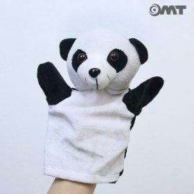 OMT 12종류 동물 손인형 봉제인형 KC인증 OD-AM02 팬더