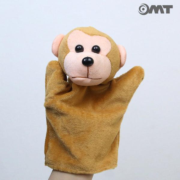 OMT 동물 손인형 손가락인형 KC인증 교구 AM09 원숭이 상품이미지