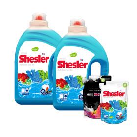 쉬슬러 고농축 액체 세탁세제 3.05L 2개 + 사은품