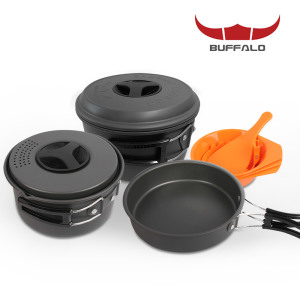 버팔로 코펠 경질 3-4인용/식기세트 캠핑용품
