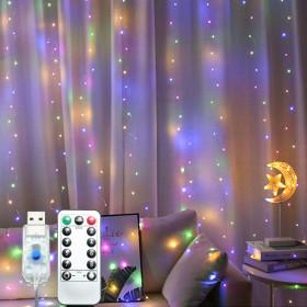 레인보우 LED 전구 크리스마스 트리 조명 OL-RAINBOW