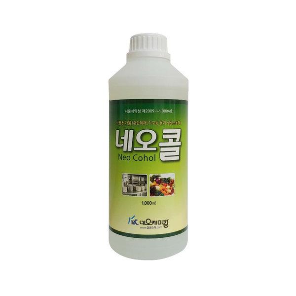 네오콜 식품첨가물 알콜소독제 1리터X10개 상품이미지