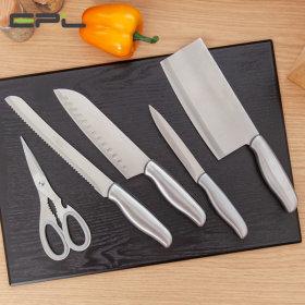 올스텐 칼블럭세트 6종 칼 가위 식도 과도 스위스6종