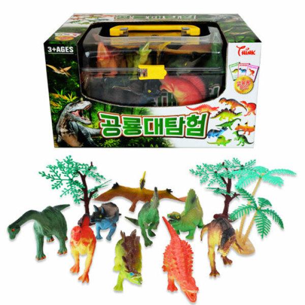 씽크-공룡대탐험 피규어/교육용 카드 상품이미지