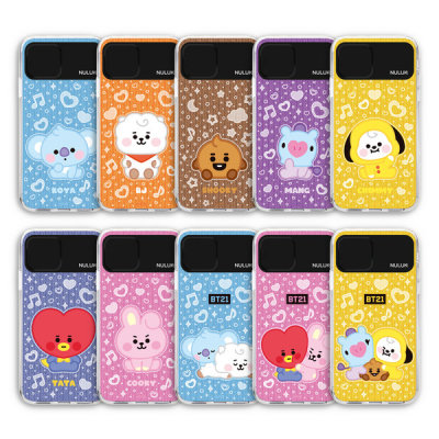 BT21 iPhone Note Baby Character Lighting Case Genuine Product