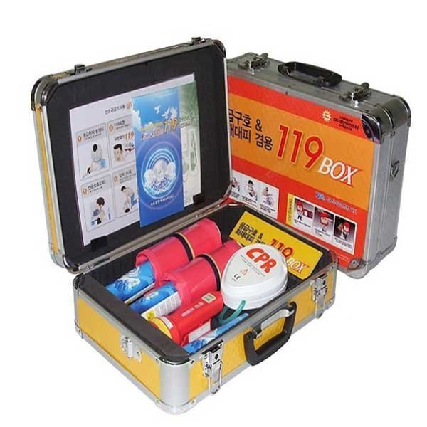 119박스/구급함/산소공급기/산소호흡기/방독면/마스크 상품이미지