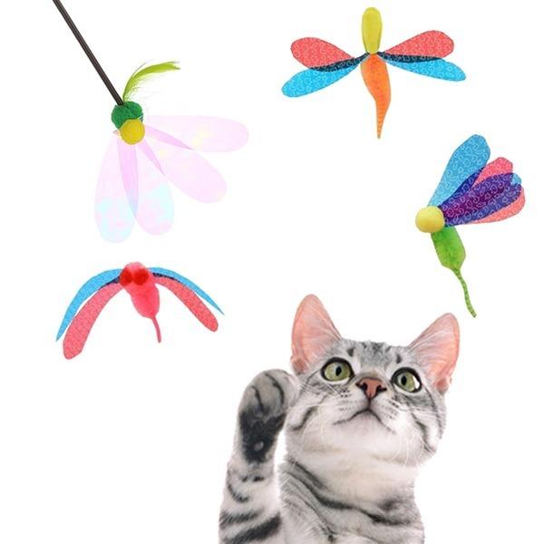 펫츠루트 카샤카샤 스틱 붕붕 낚시대 고양이장난감 상품이미지