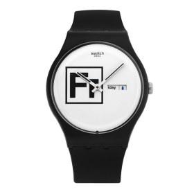 [세이코] SWATCH 스와치 SUOB722 Fritz 남성 젤리시계